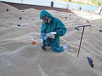Фумигация зерна