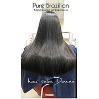 """Кератинове випрямлення волосся Pure Brazilian, салон-перукарня """"Доміно"""", фото 1"""