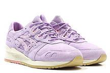 Кроссовки женские Asics Gel -Lyte III CLOT X Lavender H60XK 3131. интернет магазин, асикс гель 3