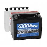 Аккумулятор мото EXIDE B/O 12V 10AH 150A YTX12-BS/ETX12-BS [152X88X131]