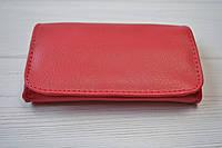 Кисет для табака (кожзам красный) 86121А