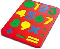 Набор цифр в рамке