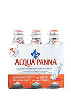 Природная минеральная вода Acqua Panna/Аква Панна н/газ стекло 0.25 л.
