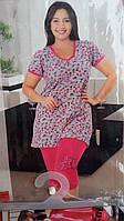 Пижама батал с капрями