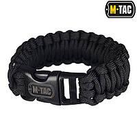 M-Tac браслет паракорд Black