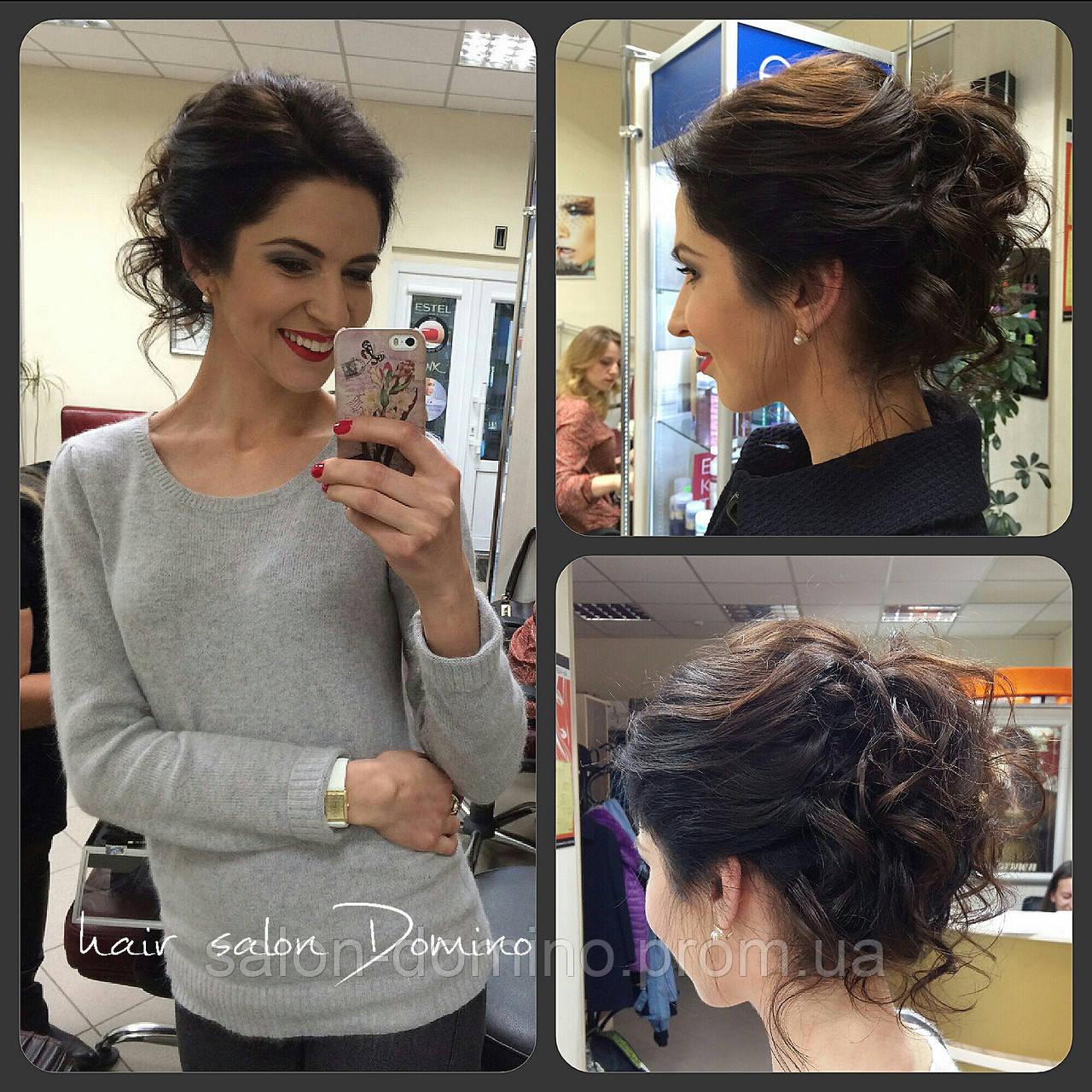 Зачіска жіноча,  Салон краси «Доміно» Львiв (Сихів)