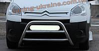 Защита переднего бампера кенгурятник из нержавейки на Honda CR-V 2002-2006