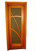 Дверь из дерева ольха