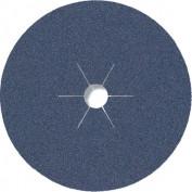 Фибровый шлифовальный диск CS 565 180*22 Р80 по металлу (арт.6691)