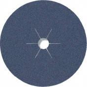 Фибровый шлифовальный диск CS 565 180*22 Р80 по металлу (арт.6691), фото 2