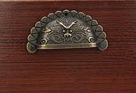 Ручка мебельная ракушка декор 90х44 мм