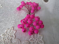Ягідки в цукрі яскраво-рожевий