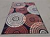 "Синтетичний килим ""Мозаїка"" Cardinal, колір бежево-чорний, фото 3"