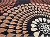 "Синтетичний килим ""Мозаїка"" Cardinal, колір бежево-чорний, фото 4"