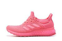 Кроссовки для бега женские Adidas Ultra Boost FutureCraft 3D Pink