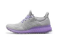 Кроссовки для бега женские Adidas Ultra Boost FutureCraft 3D Grey Purple