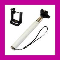 Монопод для селфи телескопический LP Z07-1 для телефонов и фотоаппаратов без кнопки!Акция