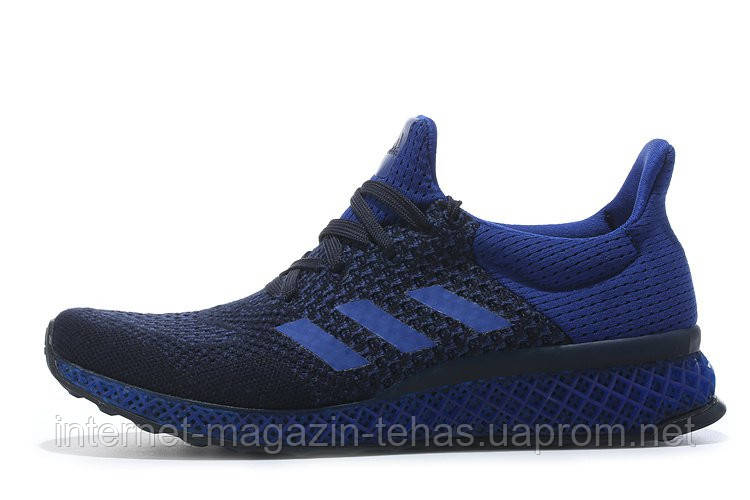 ☆ Купить Кроссовки Adidas Ultra Boost FutureCraft 3D Navy Blue ... 3e5a59348df
