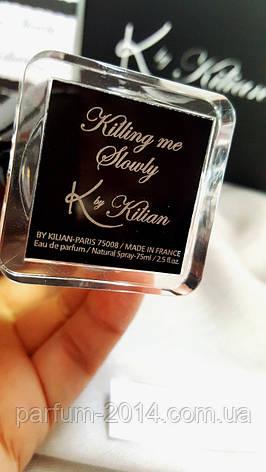 Тестер Женская парфюмированная вода Killing me Slowly by Kilian 75 ml tester (реплика), фото 2