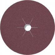 Фибровый шлифовальный диск CS 561 125*22 Р50 по металлу (арт.11014)