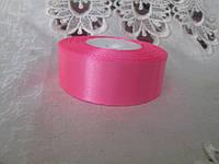 Стрічка атласна 2,5 см, рожевий