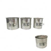Набор разъемных форм для выпечки ПАСХА  3 шт.(d 16/14/11 см, h13 см)
