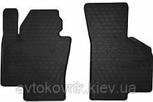 Резиновые передние коврики в салон Volkswagen Passat B7 2010-2015 (STINGRAY)