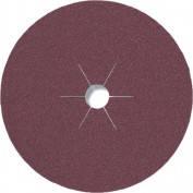 Фибровый шлифовальный диск CS 561 125*22 Р120 по металлу (арт.11018)