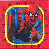 Салфетки бумажные сервировочные Человек Паук