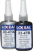 Акриловый клей Loxeal 33-47 A+B, двухкомпонентный, для стекла, пластиков, 100 мл