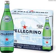 Вода минеральная Сан Пеллегрино/ San Pellegrino газ скло 0.75