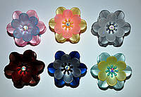 Крабы для волос - цветок (6 шт), фото 1