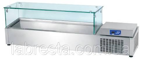 Витрина холодильная Oztiryakiler PZC5400NTS  (8 х GN 1/4) для топпинга