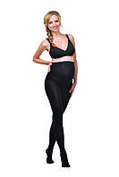 Колготы для беременных теплые (шерсть) черные 250 Ден, размер 2-5