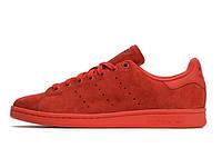 Женские стильные кроссовки adidas stan smith original Rio power red