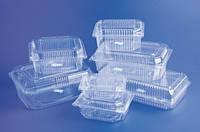 Одноразовая пластиковая упаковка для пищевых продуктов,