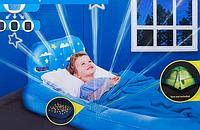Детская надувная кровать с проектором BestWay 67496