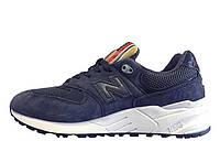Фирменные мужские кроссовки New balance 999 rainbow navy