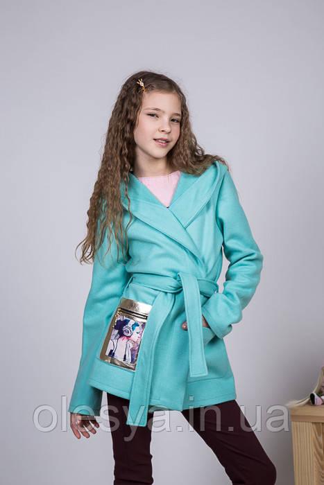 Детский Кардиган из кашемира на девочку Дина Размеры 140, 146, 152