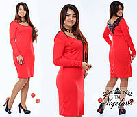 Женское платье с кружевом на спине NENKA (разные цвета) 48-50