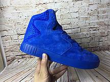 Кроссовки мужские Adidas Originals Tubular Invader Strap 2.0 blue. адидас тубулар