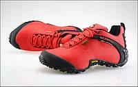 MERRELL кроссовки  водонепроницаемая ткань красные