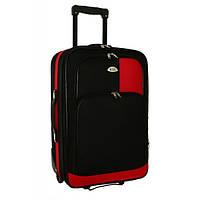 Чемодан сумка RGL 256 (небольшой) черно-красный