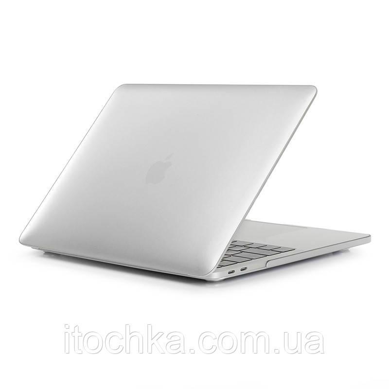 Пластиковый чехол для MacBook Pro 13 White