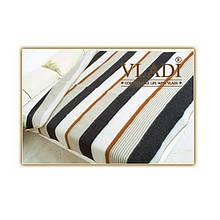 Одеяло шерстяное жаккардовое классической коллекции Vladi Полоска