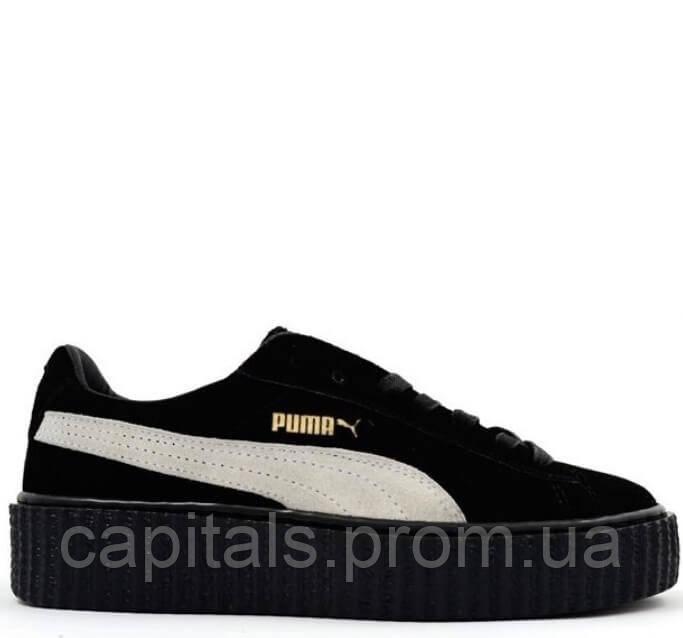 Женские кроссовки Puma Suede Creeper x Rihanna