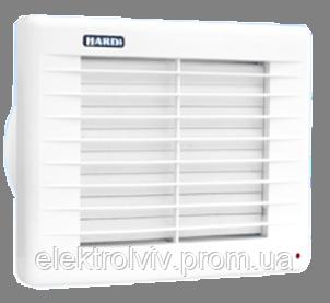 Настенный вентилятор  Hardi 150 с автоматическими жалюзями С45, фото 2