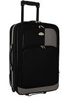 Чемодан сумка RGL 256 (небольшой) черно-серый