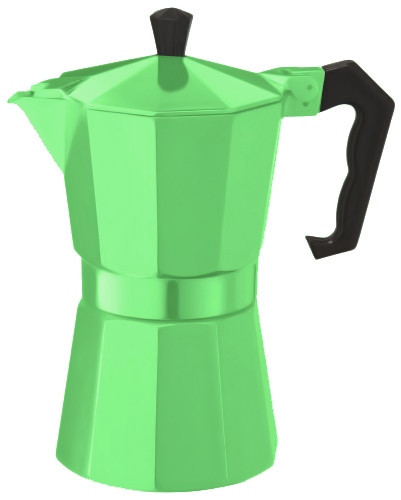 Гейзерная кофеварка Con Brio CB-6009GR (450 мл)