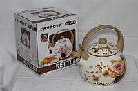 Эмалированный чайник Aurora AU-5553, 2 л